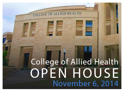 College of Allied Health Open House