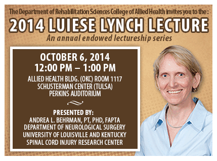 Luiese Lynch Lecture: