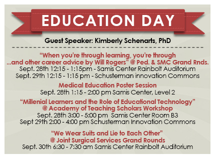 3rd Annual College of Medicine Education Day