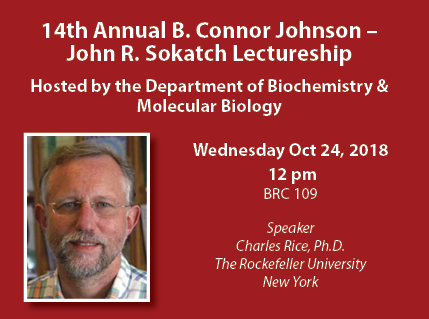2018 Annual Johnson - Sokatch Lectureship