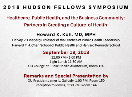 2018 Hudson Fellows Symposium