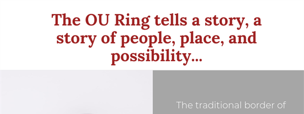University of Oklahoma Class Ring